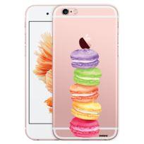 Evetane - Coque transparente rigide Macarons pour Apple iPhone 6