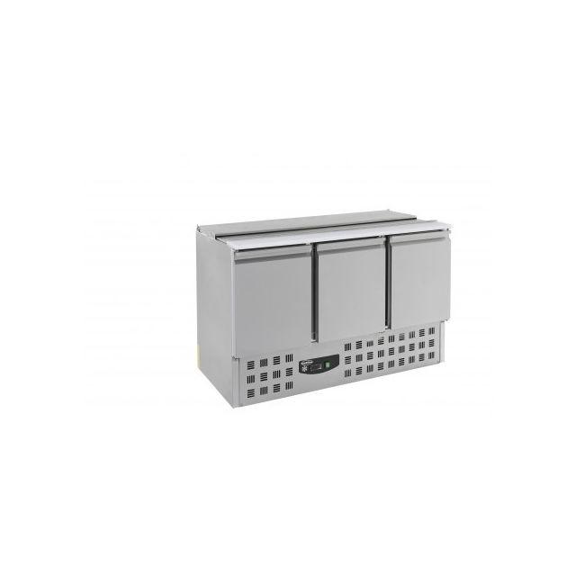 COMBISTEEL Saladette compacte - 3 portes