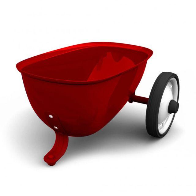 Baghera Remorque pour porteur Rider rouge