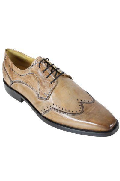566054608a2dc Melvinhamilton - Chaussure en cuir Melvin   Hamilton Alex 3 Beige - 46 -  pas cher Achat   Vente Chaussures de ville homme - RueDuCommerce