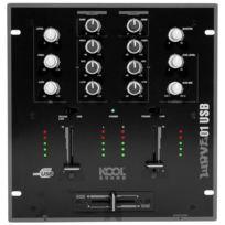 Kool Sound - Table de mixage 2 voies 6 entrées avec port Usb