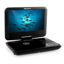 MAJESTIC - DVX 180 Lecteur DVD portable USB SD - noir