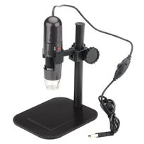 Shopinnov - Microscope numerique Usb Zoom 1000x Prend en charge Photo et Video 8 Led Resolution 1280x1024