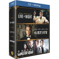 Prohibition blu-ray : live by night + gangster squad + gatsby