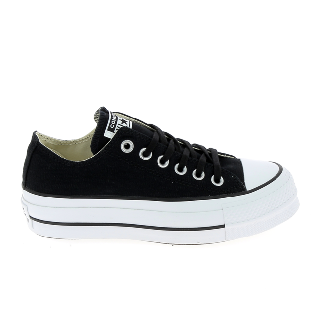 All Star Lift Ox Noir Blanc