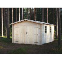 Norrwood - Garage Emboite 16.83m² en sapin FSC 28mm