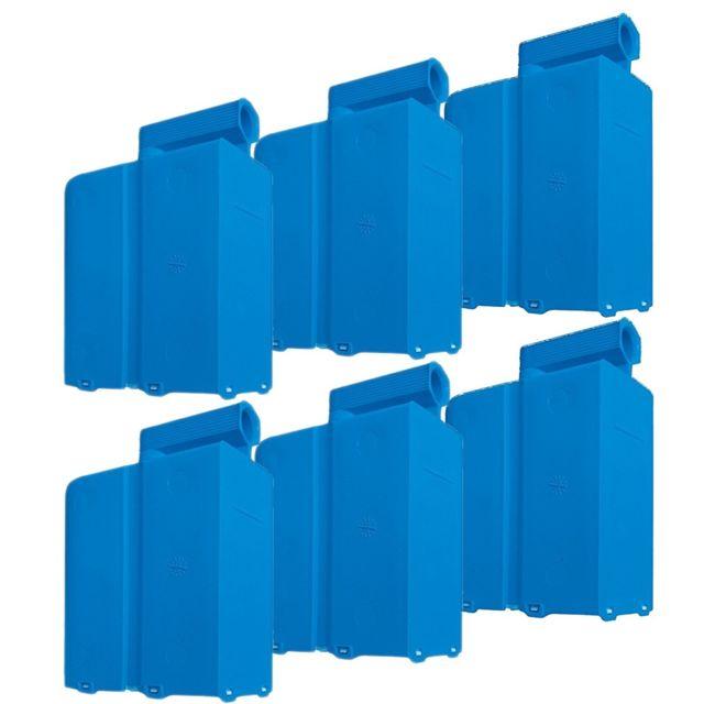 Domena 6 cassettes anticalcaire Emc - Centrale vapeur
