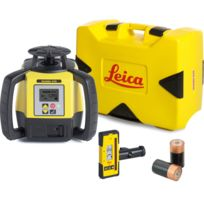 LEICA - LASER Rugby 680 version pile avec coffret cellule de réception Rod Eye 160- 6006009