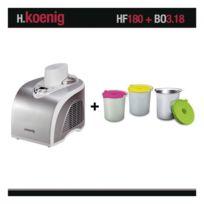 HKOENIG - Turbine à glace H.Koenig HF180 + bols bo3.18