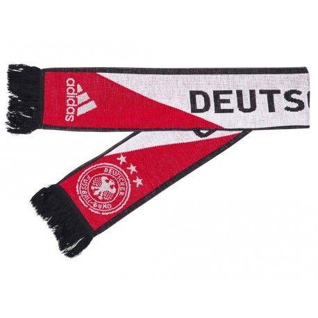 5bad76e493c Adidas originals - Dfb 3S Scarf Red - Echarpe Allemagne Football Adidas
