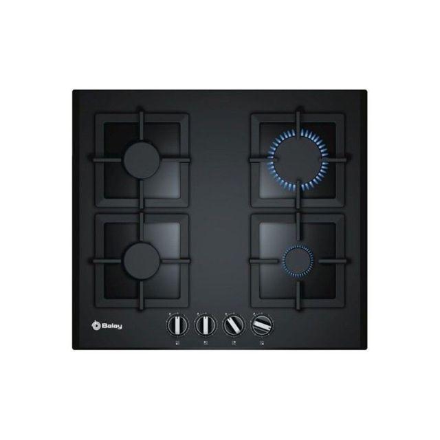 balay plaque au gaz 3etg664hb 60 cm noir verre 4 cuisini re achat plaque de cuisson n a. Black Bedroom Furniture Sets. Home Design Ideas