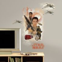 Room Studio - Star Wars 7 Sticker Geant Heros 42,5 x 72,3 cm