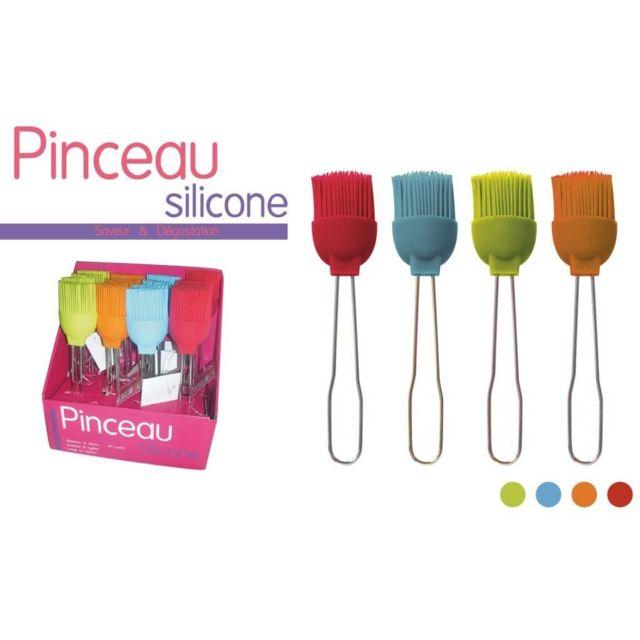 Divers 1 Pinceau De Cuisine 21.5X5 Cm Silicone Patisserie Saveur & Degustation
