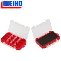 Meiho - Boite Reversible Run Gun Case W1 Rouge