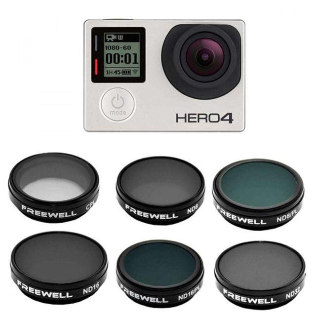 Gopro - Pack de 6 filtres professionnels pour Hero 4, 3 et 3 - pas cher  Achat   Vente Accessoires drone connecté - RueDuCommerce f6a518fd0e2c