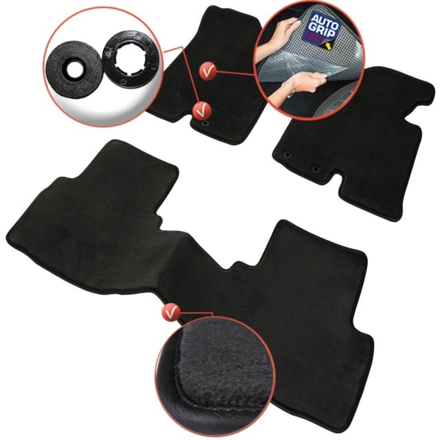 dbs tapis auto voiture sur mesure pour hyundai tucson de 06 2015 2018 3 pi ces gamme. Black Bedroom Furniture Sets. Home Design Ideas