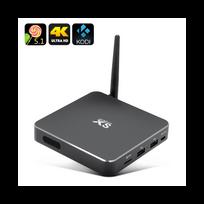 Auto-hightech - Smart box tv Android 4K Quad Core Cpu, Kodi 15.2, Uhd 4Kx2K Android 5.1, Miracast,Airplay Dlna