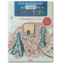 Editions Auzou - Créations en Papertoys : Mes Monuments de Paris