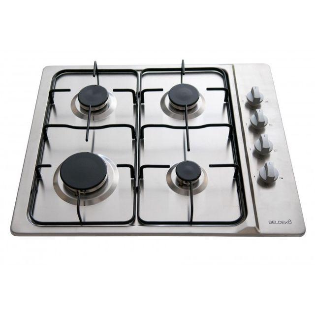 beldeko table de cuisson gaz btg4z e01ix achat plaque de cuisson gaz. Black Bedroom Furniture Sets. Home Design Ideas
