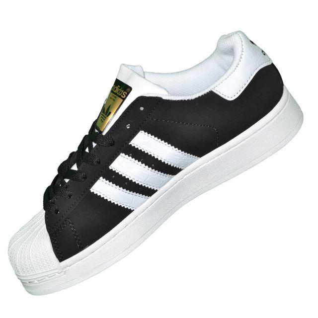 Adidas originals - Baskets - Superstar Foundation Color Pack - Noir Blanc Or