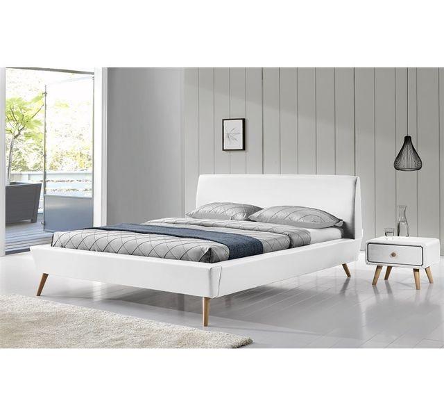 CHLOE DESIGN Lit design SRETAN - blanc - 160x200