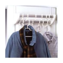 Rayen - Porte manteau double pour portes