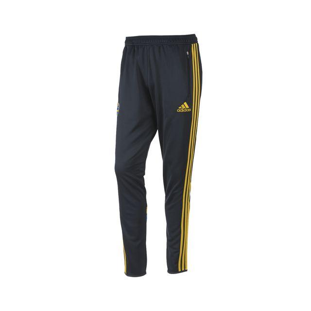 Adidas Pas Suéde Performance Noirjaune Pantalon Entraînement rxfrXHp
