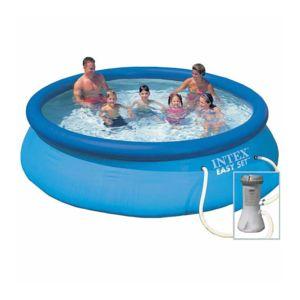 Intex piscine autoport e easy set 3 66 x 0 76 m bleu for Piscine intex 3 66 x 0 99