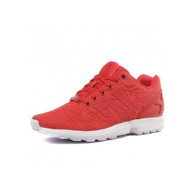 Adidas originals - Zx Flux Femme Chaussures Rouge Adidas Multicouleur - 36 2/3 - pas cher Achat / Vente Baskets homme - RueDuCommerce