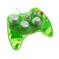 Afterglow - Manette filaire Rock Candy AQUALIME verte - XBOX 360