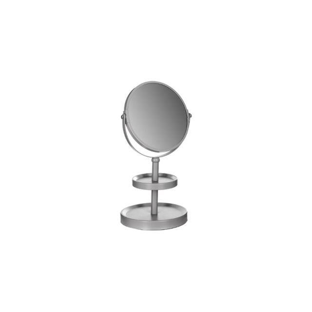 miroir sur pied 2 plateaux bleu pas cher achat vente accessoires de salle de bain. Black Bedroom Furniture Sets. Home Design Ideas
