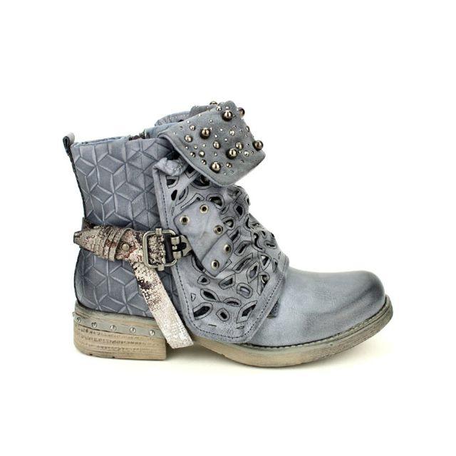 Cendriyon - Bottines Bleues Sensth Simili 36 - pas cher Achat   Vente Boots  femme - RueDuCommerce 7b0c10c8c80e