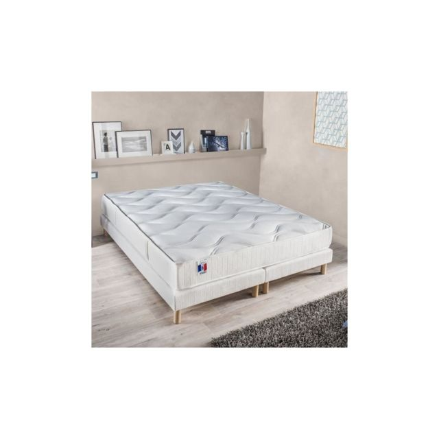 Confort Design Matelas 180 X 200 Cm - Polylatex - 23 Cm - Ferme - Gari