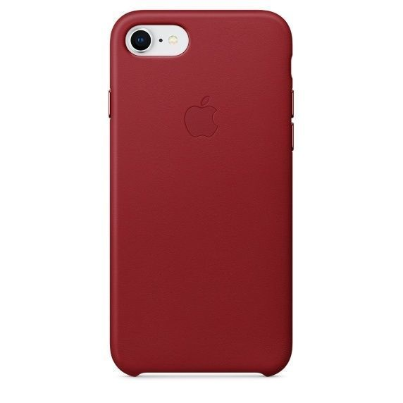 APPLE iPhone 8/7 Leather Case - PRODUCT, RED