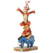 Disney - Figurine Bourriquet, Winnie, Tigrou et Porcinet - by Jim Shore