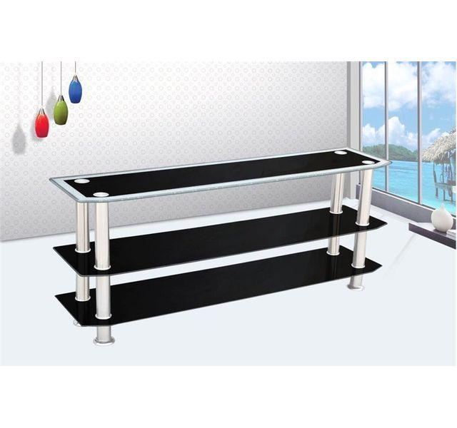 chloe design meuble tv design wake noir pas cher achat vente meubles tv hi fi. Black Bedroom Furniture Sets. Home Design Ideas
