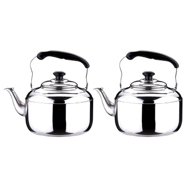 Bouilloire Sifflante Inox Whistling teapot 6L