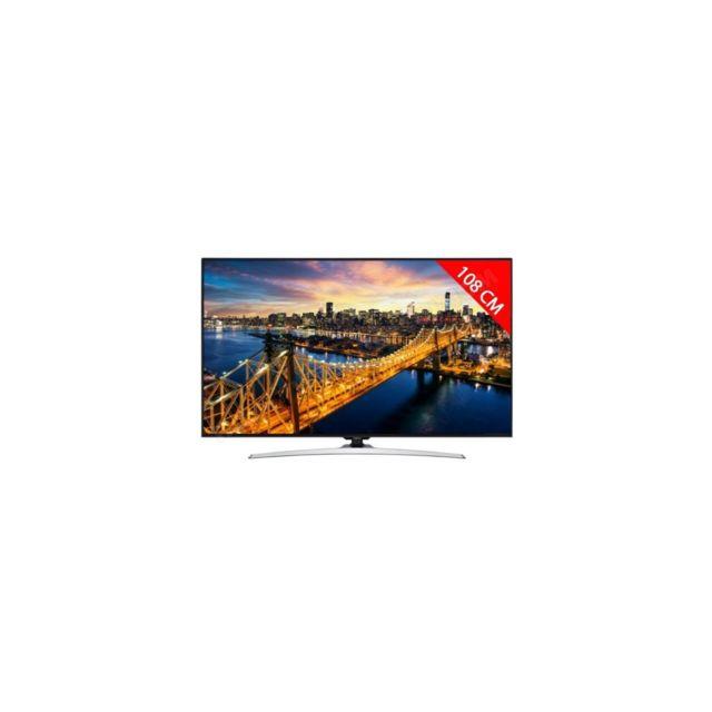 Hitachi Téléviseur Tv Led 4K 108 cm