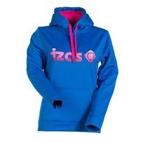 Izas - Sweatshirt Cadi bleu et rose femme