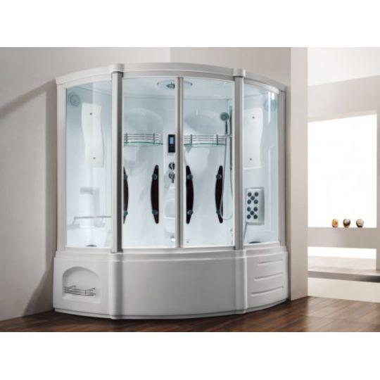 Shower Design Douche Baignoire Balneo Hammam D Angle Pas Cher