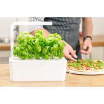 Click&Grow Smart Garden, Jardinière avec Led - Blanc
