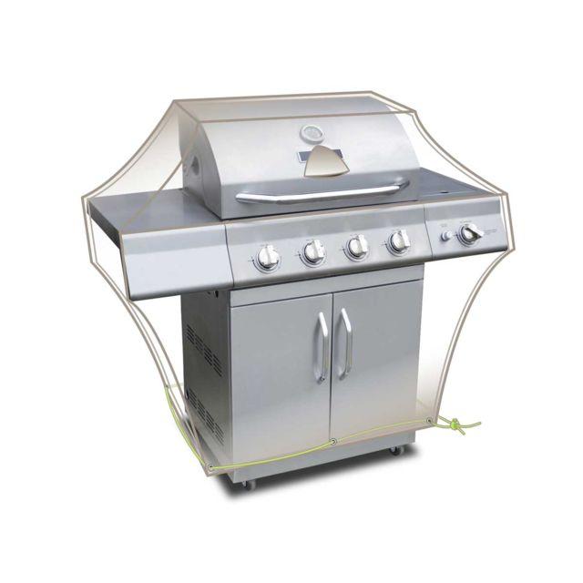 JARDIDECO Housse barbecue Luxe 150 x 80 x 90 cm