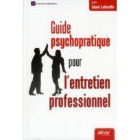 Afnor - guide psychopratique pour l'entretien professionnel