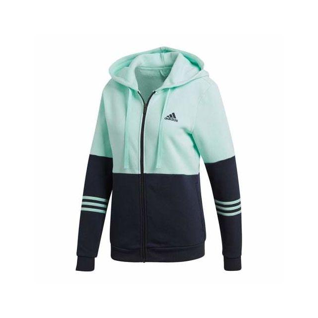 c2dd2c1b2da4 Adidas - Jogging Cotton Energize bleu marine turquoise femme Multicolour -  pas cher Achat   Vente Survêtements