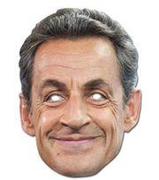 Mask-arade - Masque Carton - Nicolas Sarkozy