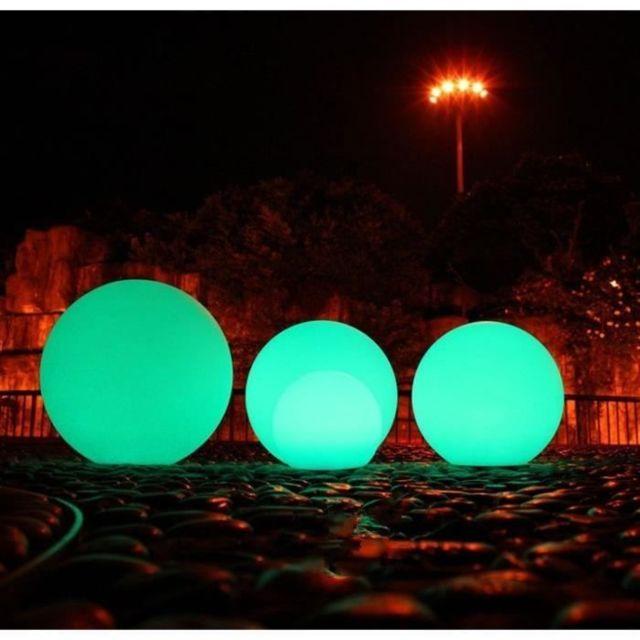 DECORATION LUMINEUSE Boule lumineuse LED sur batterie Rills 40 cm