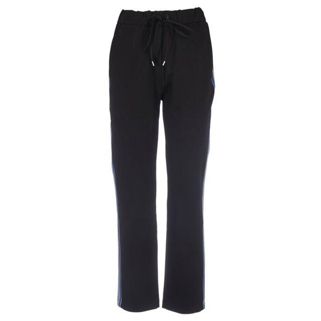 Paul Smith Femme W2R098TA3046279 Noir Polyester Joggers
