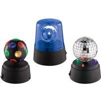 Ibiza Light - Lighty-party-ensemble De 3 Mini Effets De Lumiere A Led