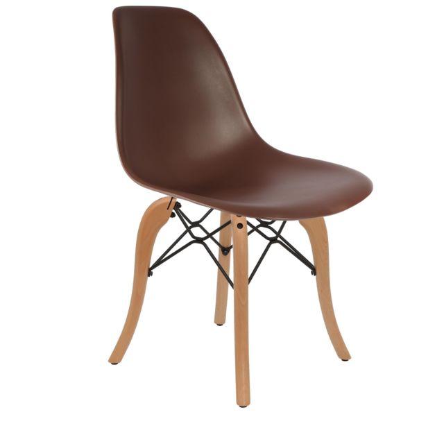 Chaise Couleur Chocolat