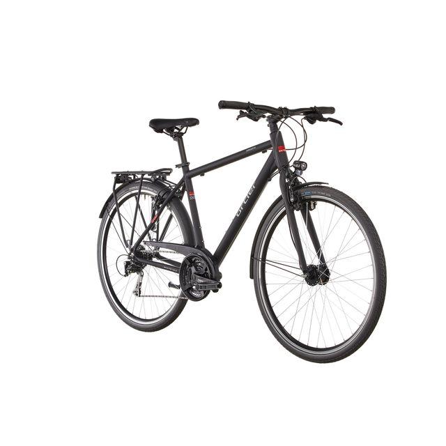 Ortler - Saragossa - Vélo de trekking - noir